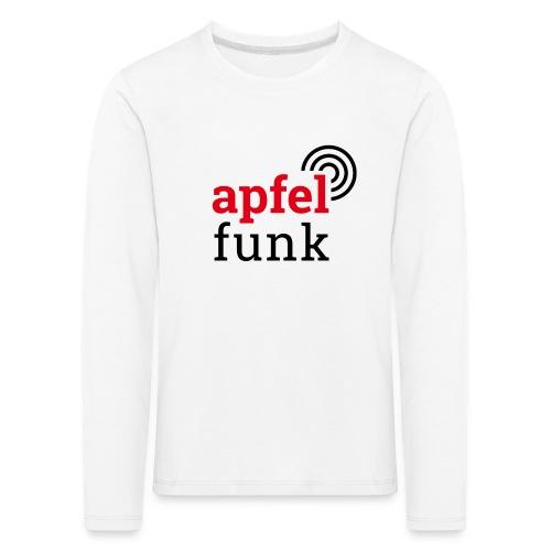 Apfelfunk Edition - Kinder Premium Langarmshirt