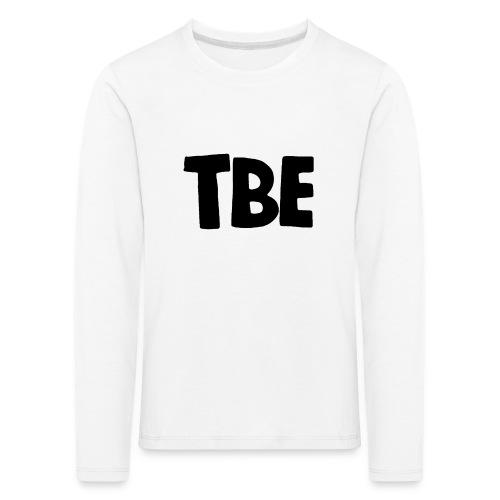 Logo zwart - Kinderen Premium shirt met lange mouwen