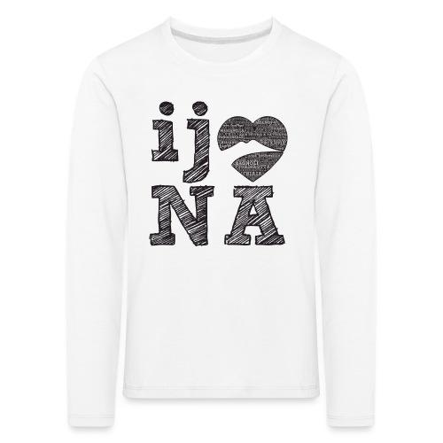 Ij amo Napule - Maglietta Premium a manica lunga per bambini