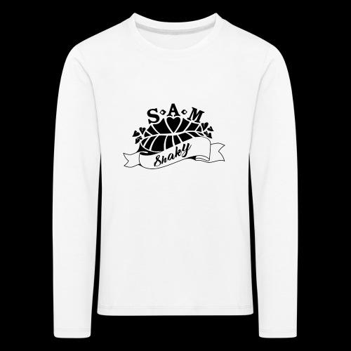 SamShaky - Lasten premium pitkähihainen t-paita