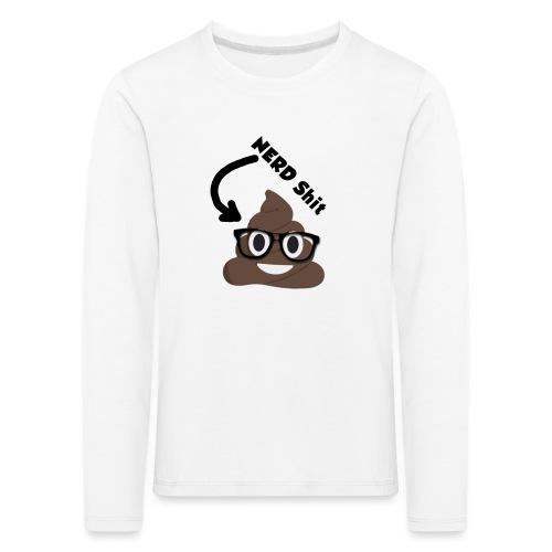 NERD Shit - Kinder Premium Langarmshirt