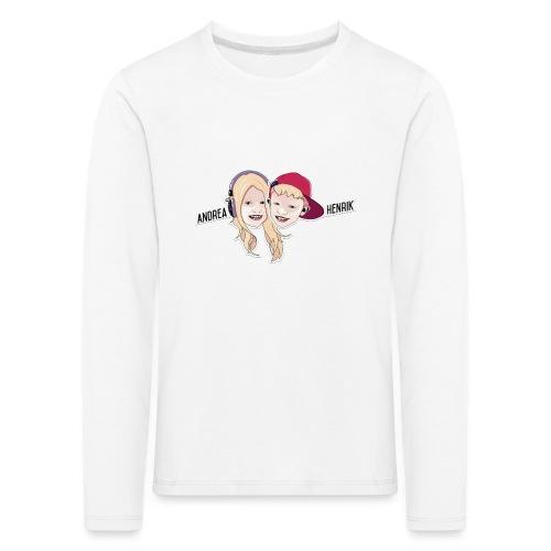 Enkel Logo - Premium langermet T-skjorte for barn