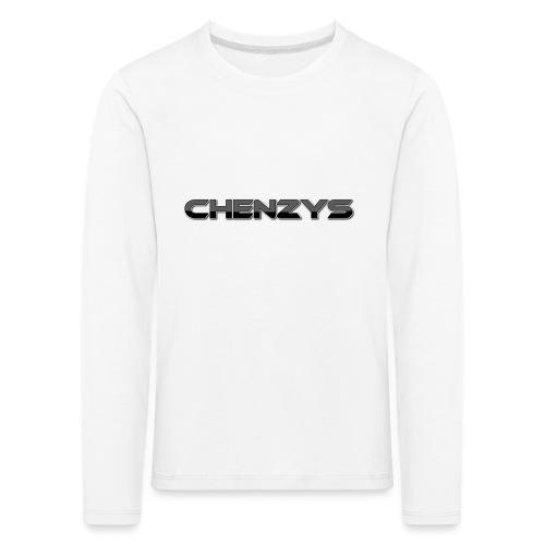 Chenzys print - Børne premium T-shirt med lange ærmer