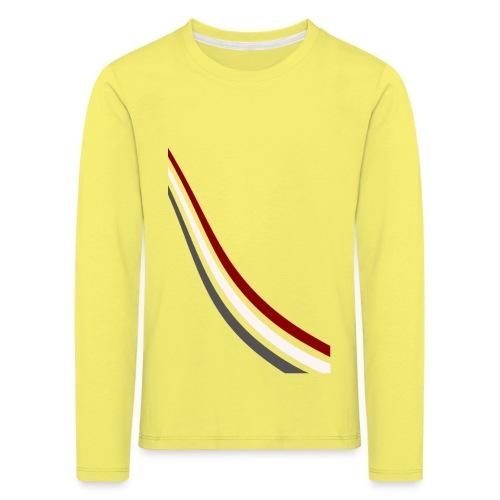 stripes shirt png - Kinderen Premium shirt met lange mouwen
