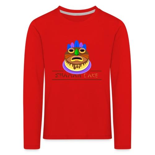Shaman Cake Official - Maglietta Premium a manica lunga per bambini