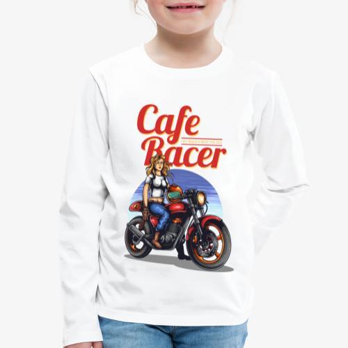 Cafe Racer - T-shirt manches longues Premium Enfant