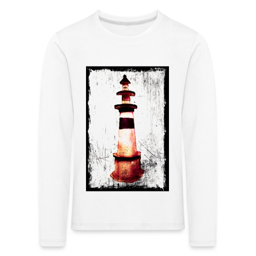 Leuchtturm - Kinder Premium Langarmshirt