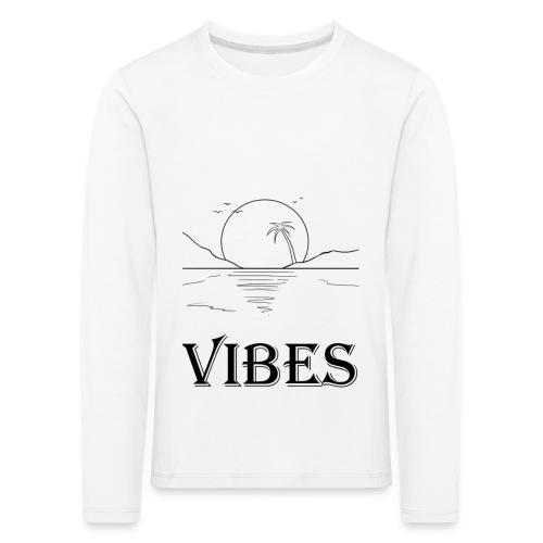 Vibes - Børne premium T-shirt med lange ærmer