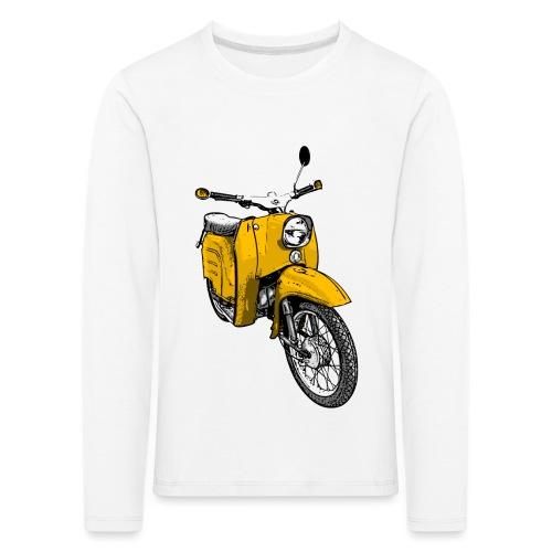 schwalbe gelb - Kinder Premium Langarmshirt