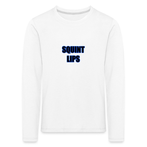 Squint Lips Merch - Kids' Premium Longsleeve Shirt