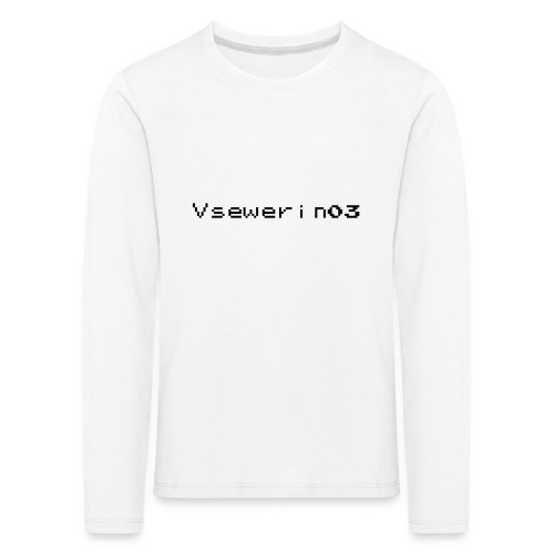 vsewerin03 exclusive tee - Børne premium T-shirt med lange ærmer