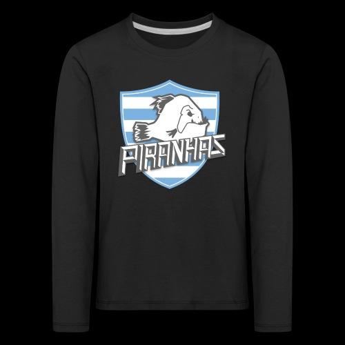 Logo Piranhas v5 - T-shirt manches longues Premium Enfant