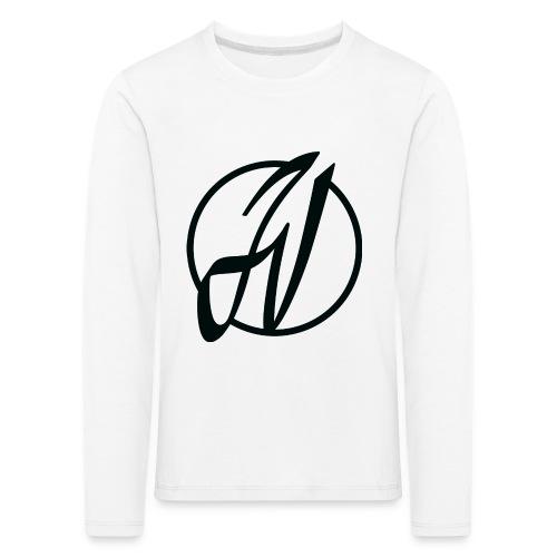 JV Guitars - logo noir - T-shirt manches longues Premium Enfant