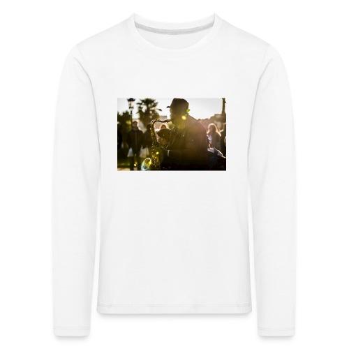 Shaka saxo - T-shirt manches longues Premium Enfant