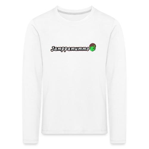 Jamppamummo! - Lasten premium pitkähihainen t-paita