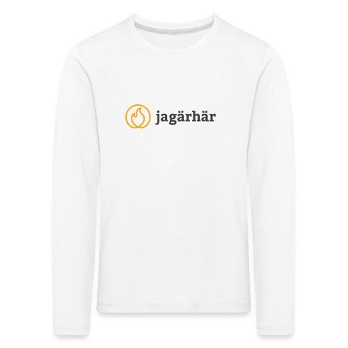 #jagärhär - Långärmad premium-T-shirt barn