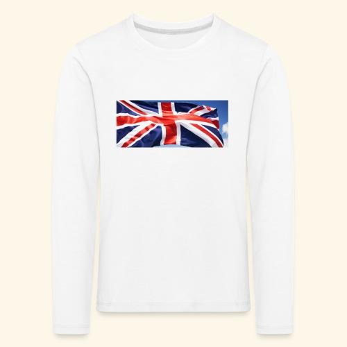 UK flag - Kids' Premium Longsleeve Shirt