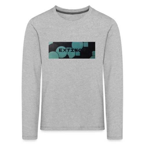 Extinct box logo - Kids' Premium Longsleeve Shirt