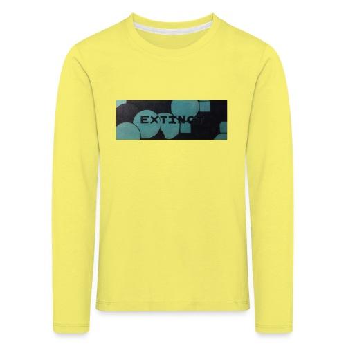 Extinct box logo - Kids' Premium Longsleeve Shirt
