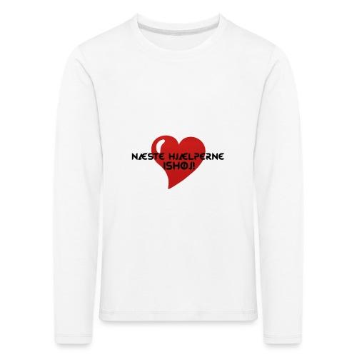 Næste-Hjælperne-Ishøj - Børne premium T-shirt med lange ærmer