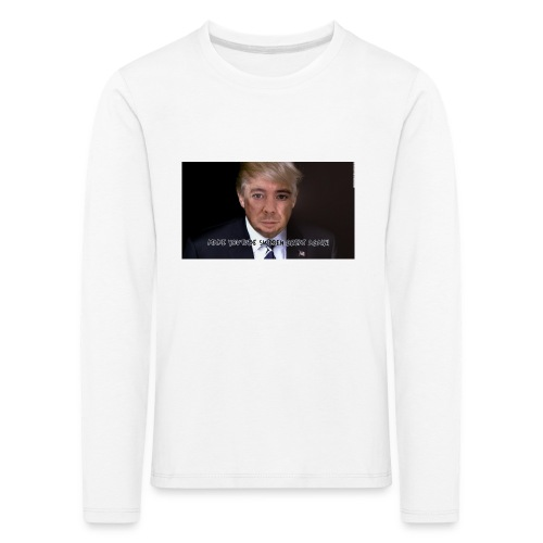 MAKE YOUTUBE SWEDEN GREAT AGAIN - Långärmad premium-T-shirt barn