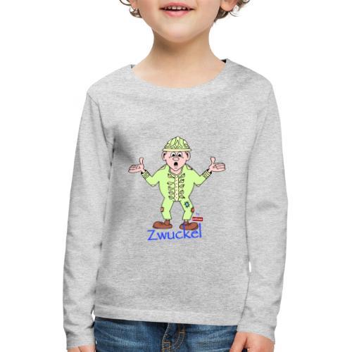 patame Zwuckel Blau - Kinder Premium Langarmshirt