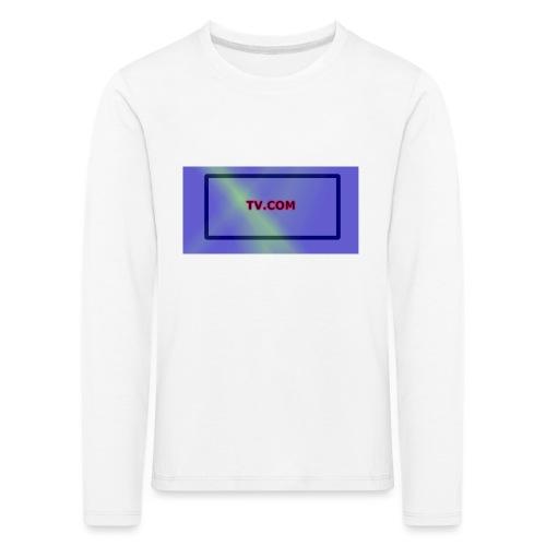 TV.COM - Lasten premium pitkähihainen t-paita