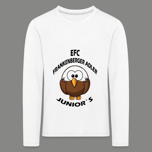Junior Set in Schwarz - Kinder Premium Langarmshirt