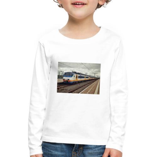 Sprinter in Almere Oostvaarders - Kinderen Premium shirt met lange mouwen