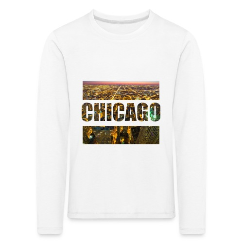 Chicago - Kinder Premium Langarmshirt