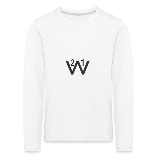 21wille Hoodie Barn - Långärmad premium-T-shirt barn