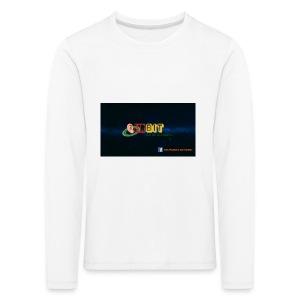 OhrBit Logo - Kinder Premium Langarmshirt