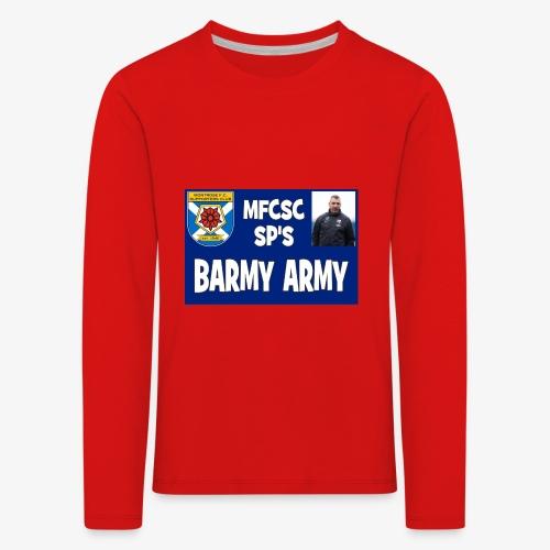 Barmy Army - Kids' Premium Longsleeve Shirt