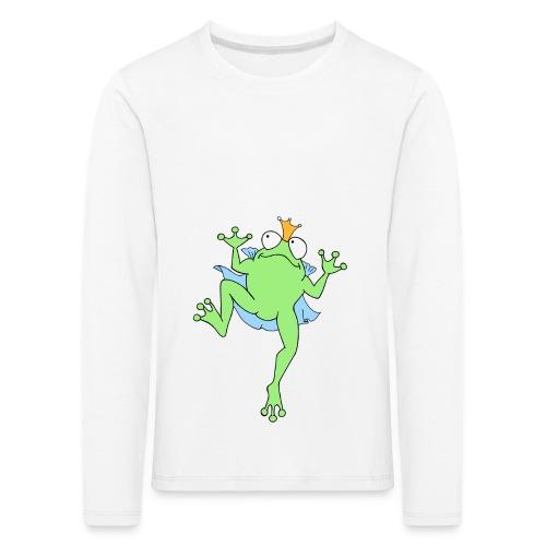 Froschkönig - Kinder Premium Langarmshirt