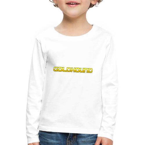 Goldhound - Kids' Premium Longsleeve Shirt