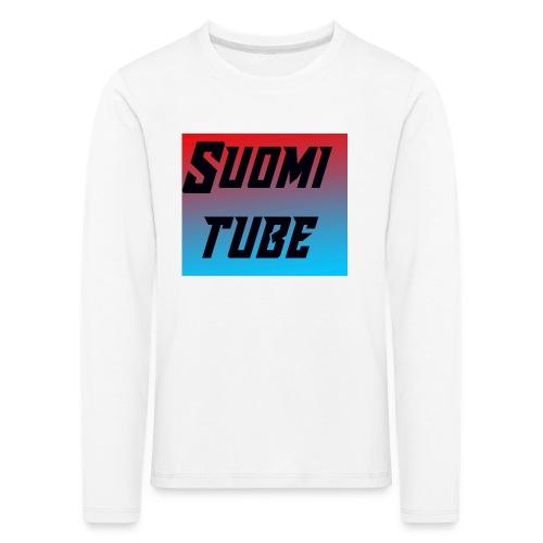 SuomiTube - Lasten premium pitkähihainen t-paita