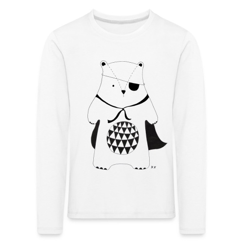 stoere beer - Kinderen Premium shirt met lange mouwen