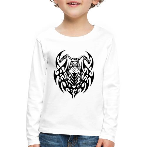 Moto Tribal - Camiseta de manga larga premium niño