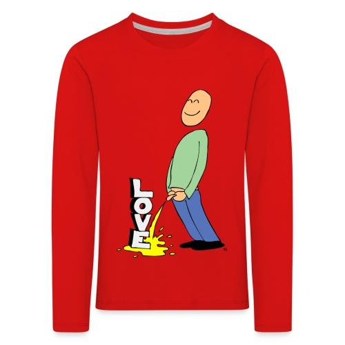 tissekopp farge - Premium langermet T-skjorte for barn