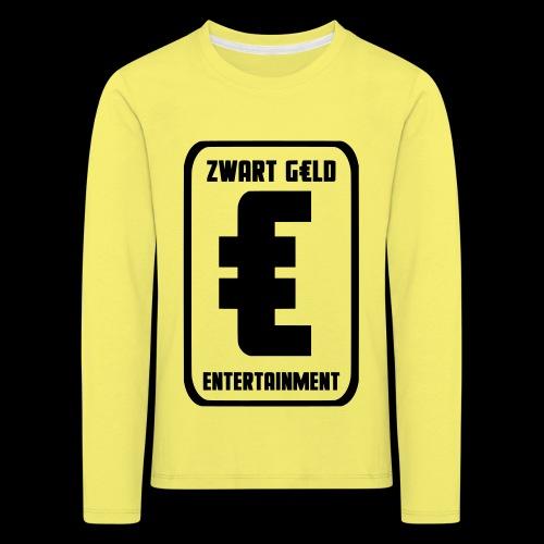ZwartGeld Logo Sweater - Kinderen Premium shirt met lange mouwen