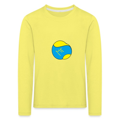 mr hav3rgyn logo - Børne premium T-shirt med lange ærmer