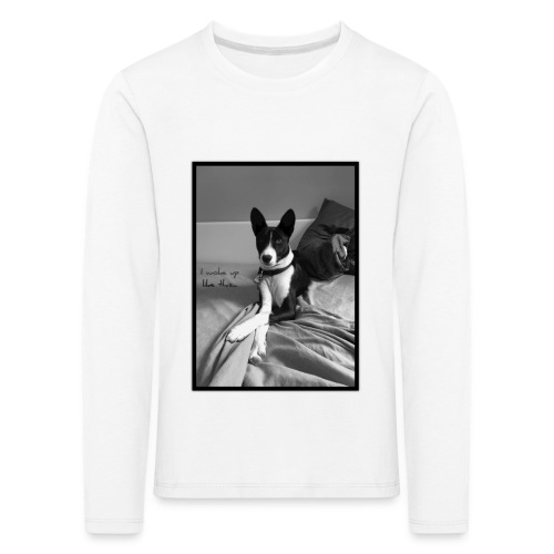 Piratethebasenji - T-shirt manches longues Premium Enfant