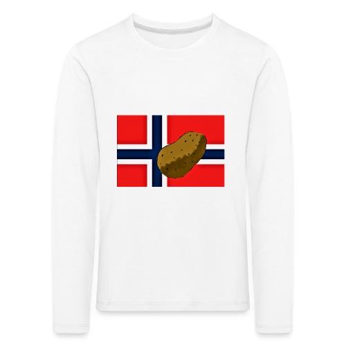 NorPot - Premium langermet T-skjorte for barn