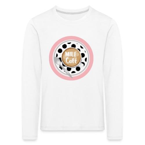 Milfcafé - MILF Logo Instagram Blogger Musthave - Kinder Premium Langarmshirt
