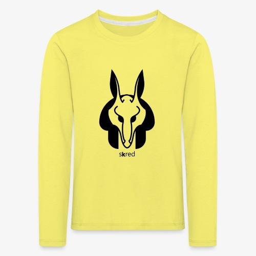 Anubi Soggetto1 - Maglietta Premium a manica lunga per bambini