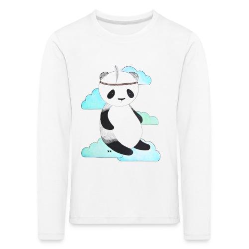 pandabeer - Kinderen Premium shirt met lange mouwen