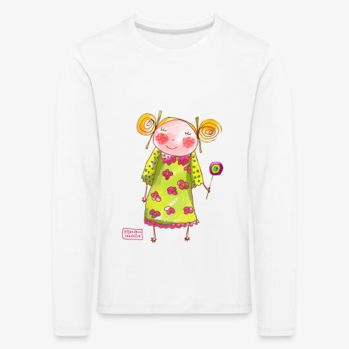fille happy - T-shirt manches longues Premium Enfant
