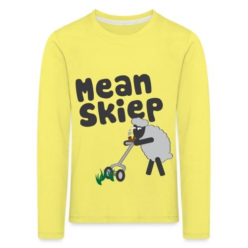 meanskiep design - Kinderen Premium shirt met lange mouwen