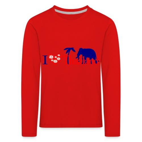 I love Thailand - Kids' Premium Longsleeve Shirt