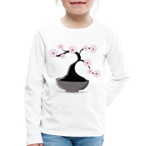 Kirschblueten Bonsai - Kinder Premium Langarmshirt